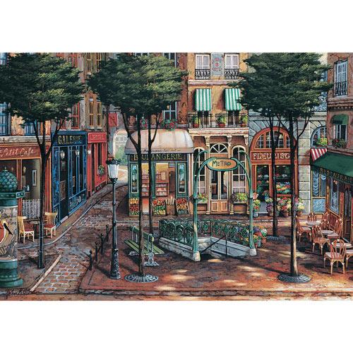 Sunlit Square 1000 Piece Jigsaw Puzzle