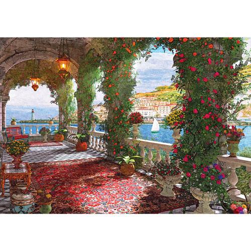Mediterranean Veranda 1000 Piece Jigsaw Puzzle