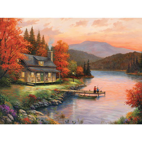 Together At Dusk 300 Large Piece Jigsaw Puzzle