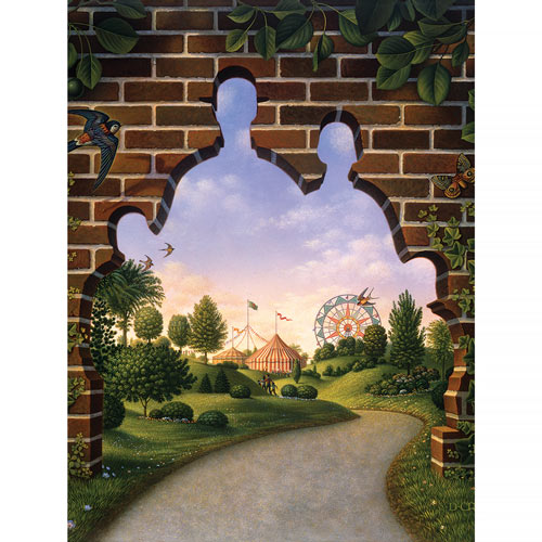 Carnival Mystery 300 Large Piece Jigsaw Puzzle