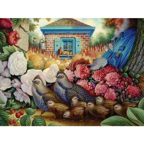 Garden Dreams 500 Piece Jigsaw Puzzle