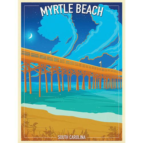 Myrtle Beach 300 Large Piece Jigsaw Puzzle