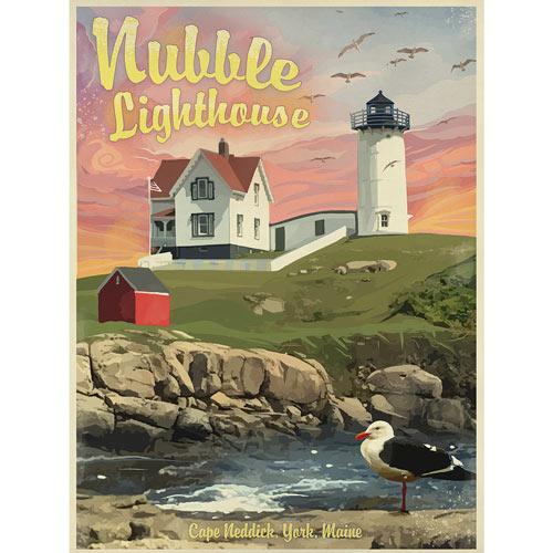 Nubble Light House 500 Piece Jigsaw Puzzle