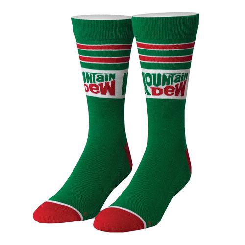 Mountain Dew Retro Socks