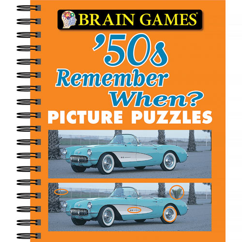 Remember When Picture Puzzles 50's