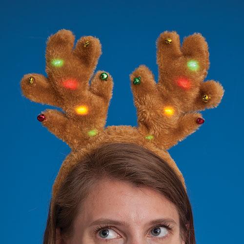 Light-Up Antler Headband