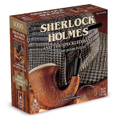 Sherlock Holmes Mystery Puzzle 1000 Piece Jigsaw Puzzle