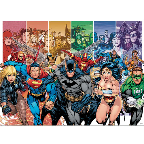 Justice League 1000 Piece Jigsaw Puzzle