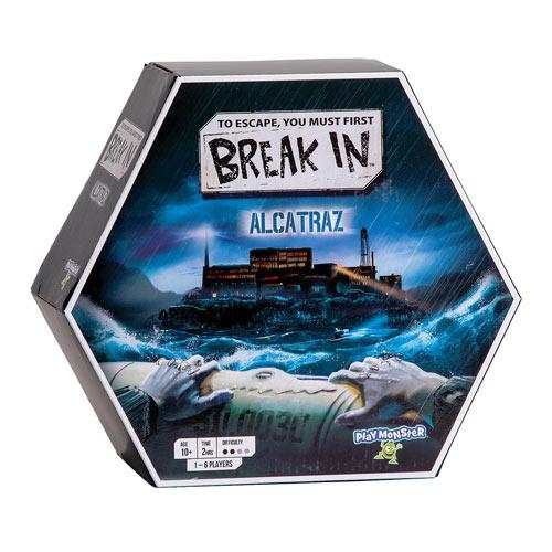 Break In Alcatraz Board Game