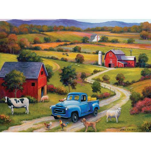 Down On The Farm 500 Piece Jigsaw Puzzle