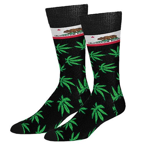 California Marijuana Socks