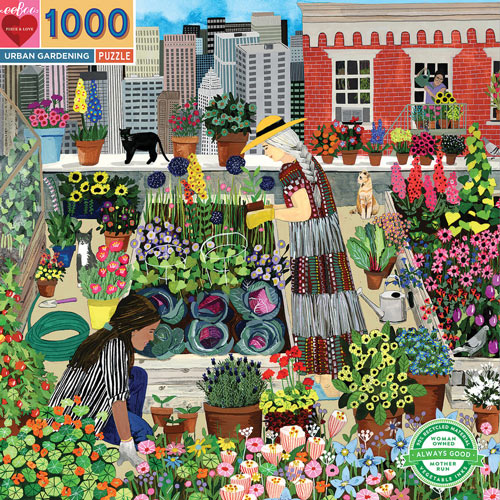 Urban Gardening 1000 Piece Jigsaw Puzzle
