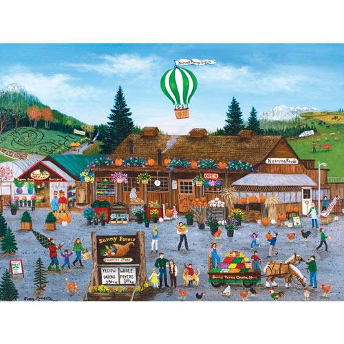 Sunny Farms 550 Piece Jigsaw Puzzle