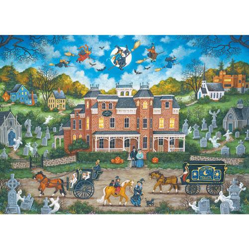 Halloween Fright Night 1000 Piece Jigsaw Puzzle