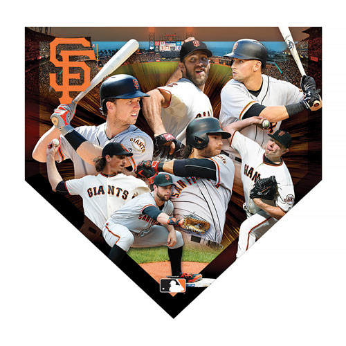 Giants Home Plate 500 Piece Jigsaw Puzzle