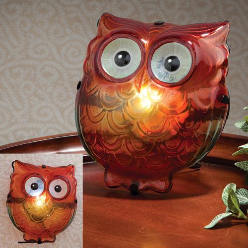 Owl LED Animal Lamp