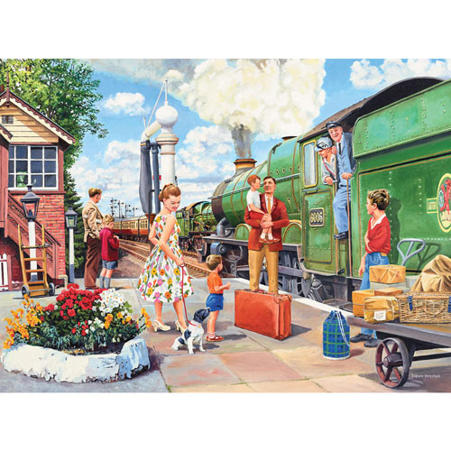 The Train Driver 300 Large Piece Jigsaw Puzzle