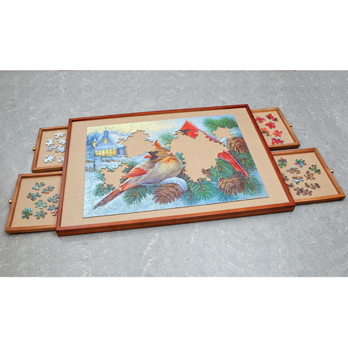 Designer Jumbo Puzzle Plateau