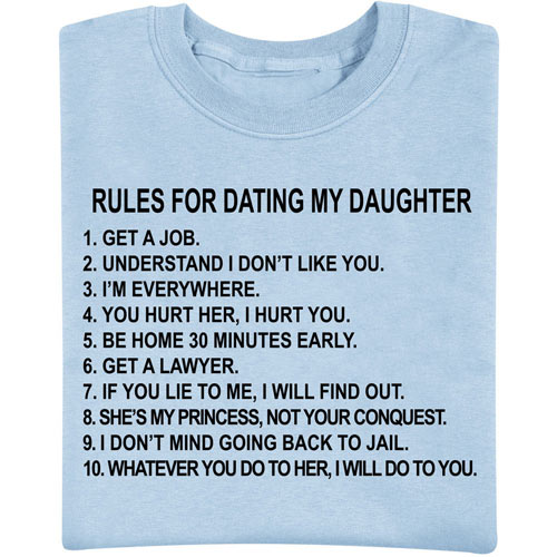 Dating My Daughter Tee