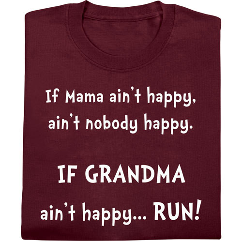 Mama Aint Happy Tee