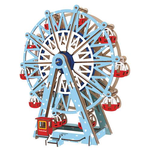 Ferris Wheel 3D Wooden Puzzle