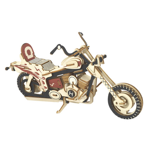 Motorcycle 3D Wooden Puzzle