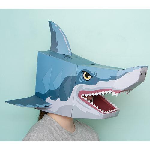 3D Shark Mask