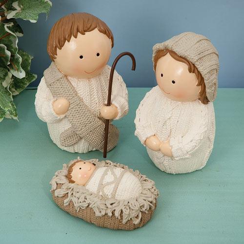Set of 3 Holy Family