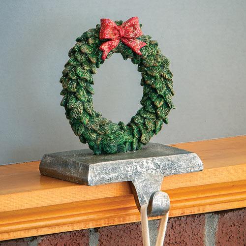 Wreath Mantel Hanger