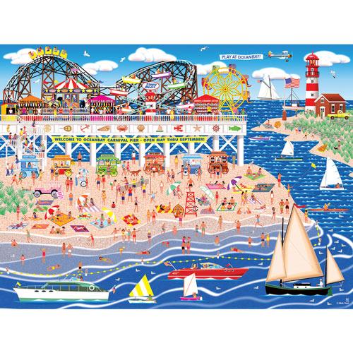 Oceanbay Carnival Pier 500 Piece Jigsaw Puzzle