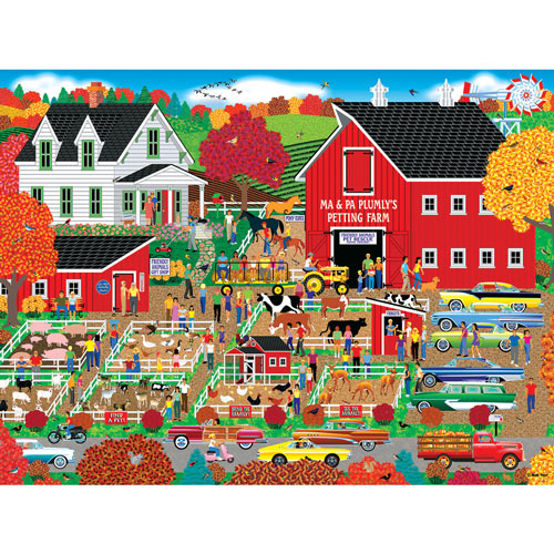 Plumly's Petting Farm 500 Piece Jigsaw Puzzle