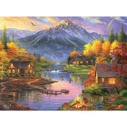 Mountain Retreat 1000 Piece Jigsaw Puzzle