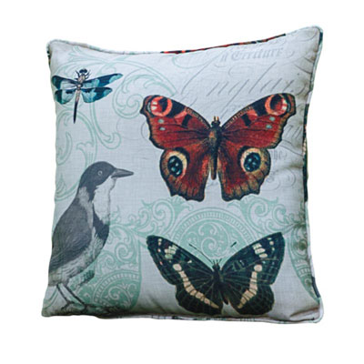 Songbird Song of Swallow Pillow