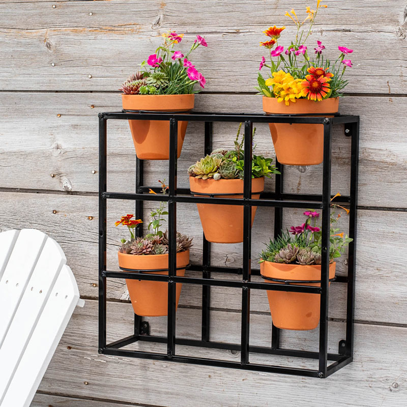 Potted Wall Display