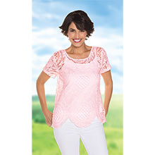 Scalloped Crocheted Top