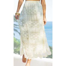 Crocheted Lace Skirt