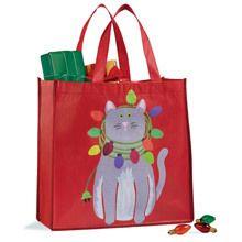 Christmas Cat Tote