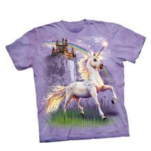 Unicorn Castle Sweet Girls Youth Tee