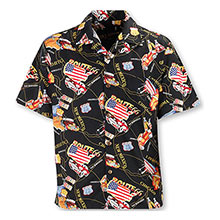 Route 66 Camp Shirt