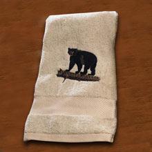 Wildlife Embroidered Bath Towel