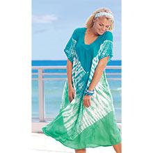 Caribbean Tie-Dyed Dress