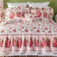 Rose Garden Decorative Pillow