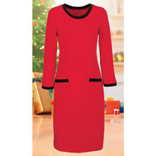 Classic Dress  - Red