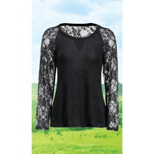 Soft Jersey Lace Top