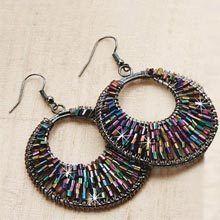Aztec Night Earrings
