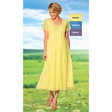 Effortless Lace Dress - Daffodil