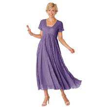 Effortless Lace Dress - Wisteria