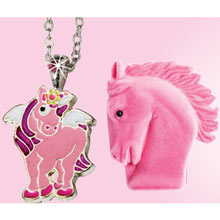 Horse Necklace with Decorative Gift Box