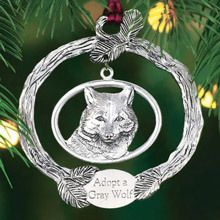 Ornament with a Purpose - Gray Wolf