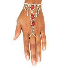 Crimson Bracelet & Ring Combination